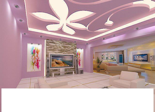 Italian ceiling roof interior design 20131 ديكورات اسقف جبس