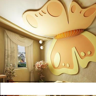 kids room gypsum ceiling design orangebutterfly gypsum ceiling ديكورات اسقف جبس